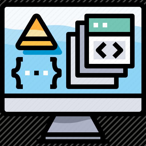 app, coding, develop, development, programming icon