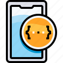 app, coding, develop, development, device, smartphone icon