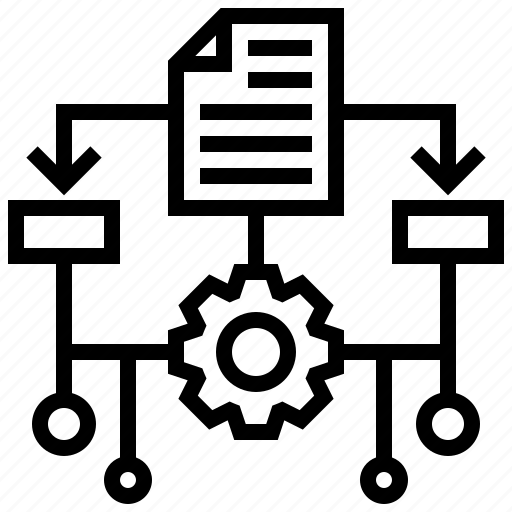 algorithm, application, data, programming icon