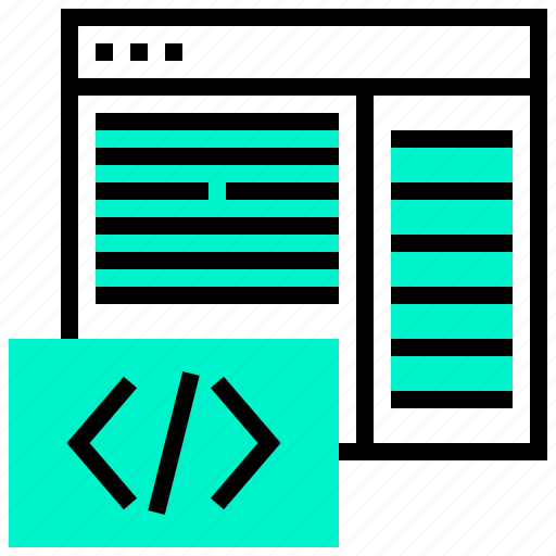 application, code, data, programming, website icon