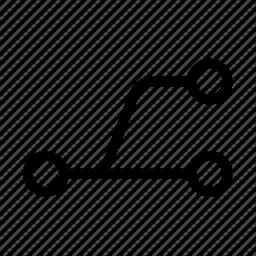 branch, commit, fork, git, programming, split, svn icon