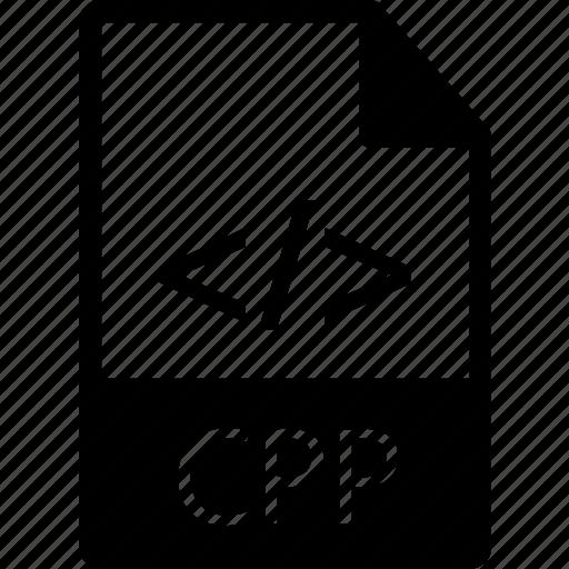 c plus plus, c++, code, cpp, extension, file, language, prog, programming icon
