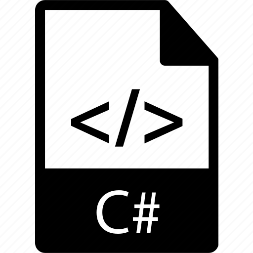 c, c sharp, c#, csharp, extension, file, langague, prog, programming icon