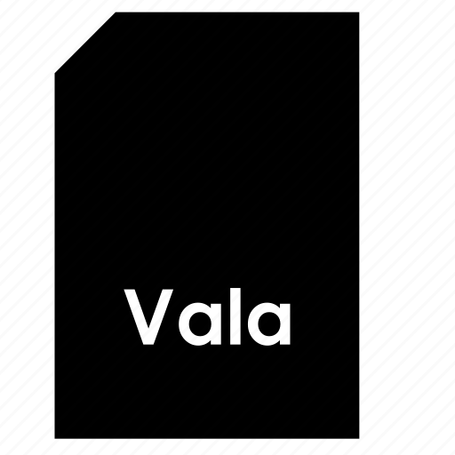 data, document, file, format, type, vala icon