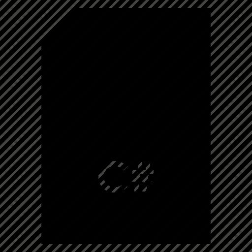 c#, data, document, file, format, type icon