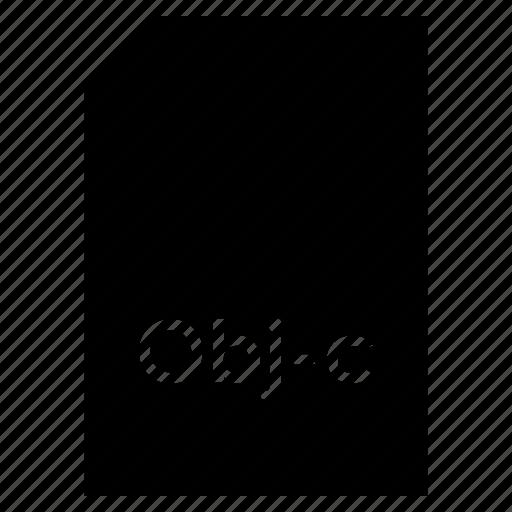 data, document, file, format, obj-c, type icon