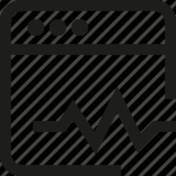 chart, interface, window icon