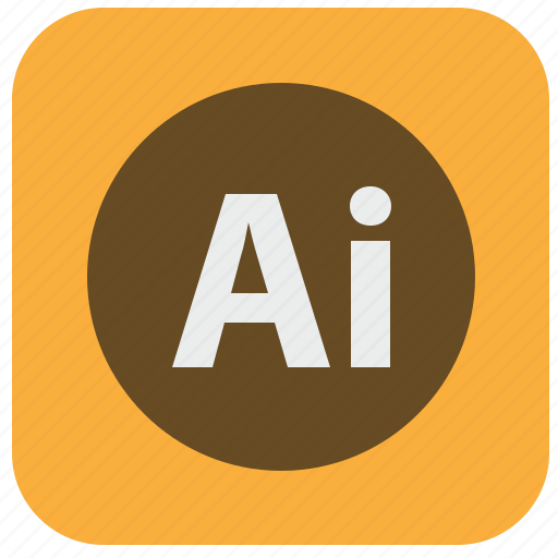 adobe, editor, graphics, illustrator, program, vectorial icon