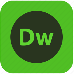 dreamweaver, dw, editor, html, program, site icon