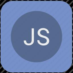 code, dynamic, editor, javascript, js, program, script icon