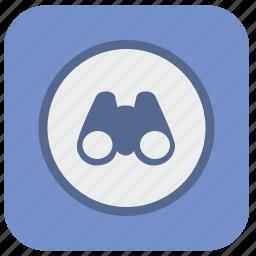 browser, editor, find, navigation, program, view icon