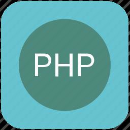 code, editor, php, program, programming icon