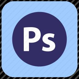 editor, graphics, photoshop, program, ps icon
