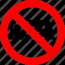 ban, caravan, no, prohibited, trailer, transport, vehicle