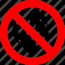 ban, flip flops, forbidden, no, prohibition, sign