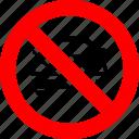 automobile, ban, car, no, prohibited, transport, vehicle