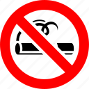ban, cigarette, no, no smoking, prohibited icon
