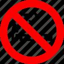 ban, cigarette, forbidden, no smoking, prohibition, sign icon