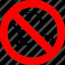 ban, cigarette, no, no smoking, prohibition, sign
