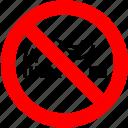 ban, cigarette, no, no smoking, prohibition, sign icon
