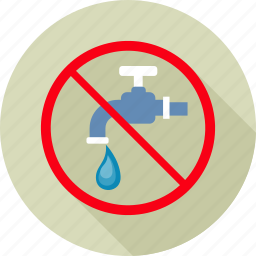 drop, drops, prohibit, prohibited, save water, wastage, water icon
