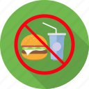 avoid, eat, eating, no food, prohibit, prohibited icon