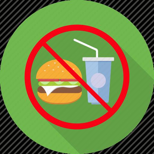 avoid, eat, eating, no food, prohibit, prohibited icon