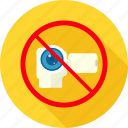 camera, cctv, no cctv, photography, photos, prohibit, prohibited icon