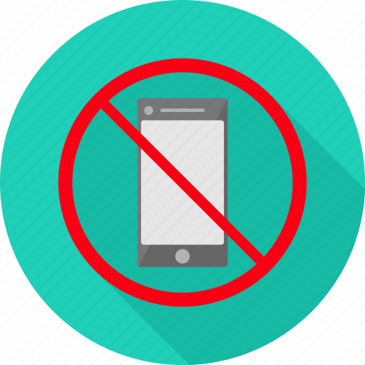 denied, no phone, phone, prohibit, prohibited, swtich off, usage icon