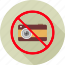 ban, denied, no photography, no photos, photography, prohibit, prohibited icon
