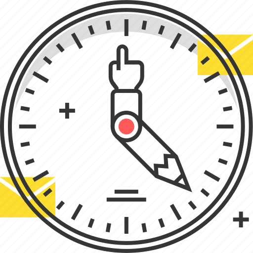 clock, mail, time icon