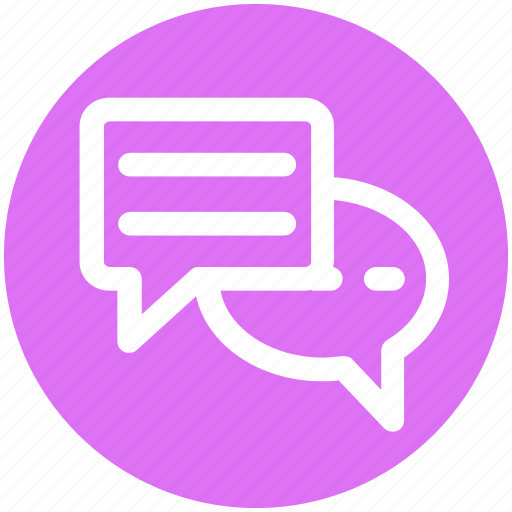 Chatting, communication, conversion, messages, sms, typing icon - Download on Iconfinder