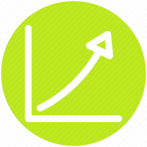 Chart, diagram, graph, line, up icon - Download on Iconfinder
