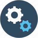 cogs, customization, options, preferences, settings