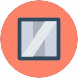 mirror, project, project management icon