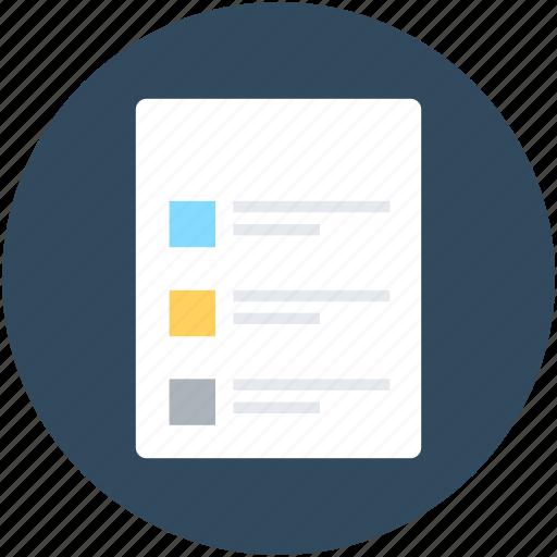 appointment, checklist, list, memo, to do icon