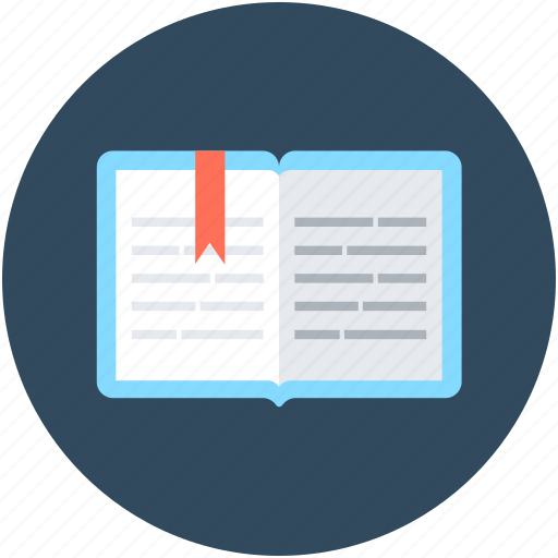 Book, bookmark, diary, knowledge, reading icon - Download on Iconfinder