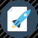 missile, startup file, startup, rocket, startup launched