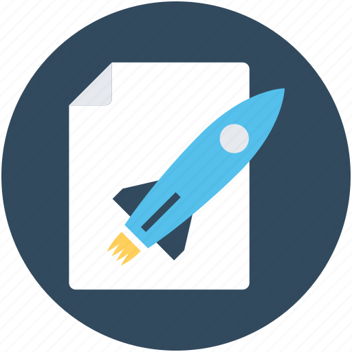 missile, rocket, startup, startup file, startup launched icon