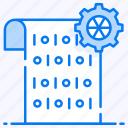 binary data, coding, data mart, machine language, programming language