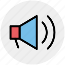 announcement, loudspeaker, megaphone, speaker, volume icon