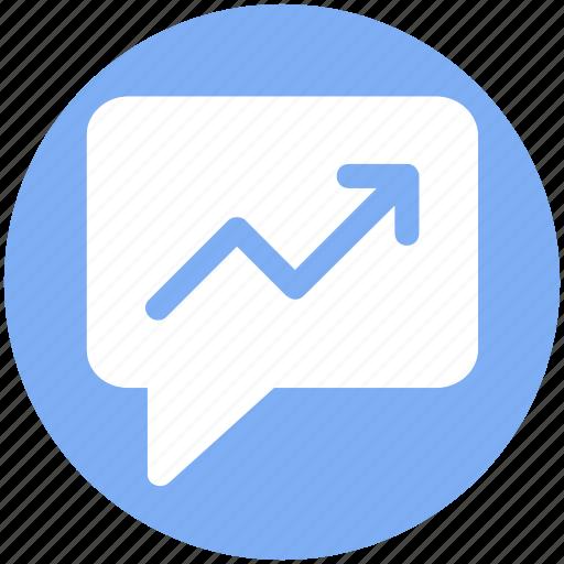 chat, conversion, graph, message graph, text icon