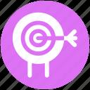 aim, ambition, shooting, shooting target, sports shooting, target icon