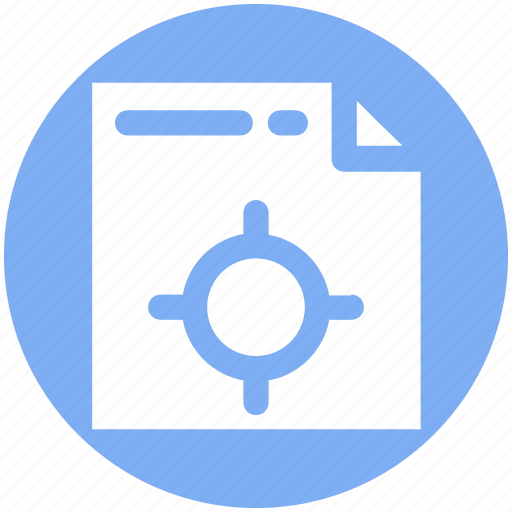 Document, file, page, project management, web option, web page setting icon - Download on Iconfinder