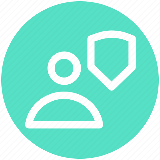 account, man, protection, security icon