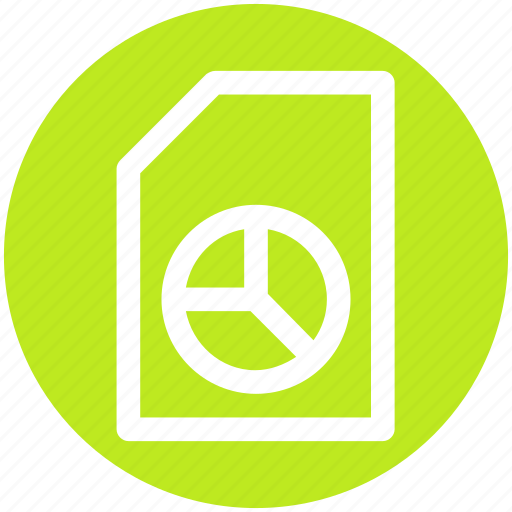 chart, form, layout, page, pie, pie chart icon