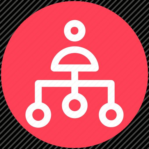 Business man, connection, link, man, node, user icon - Download on Iconfinder
