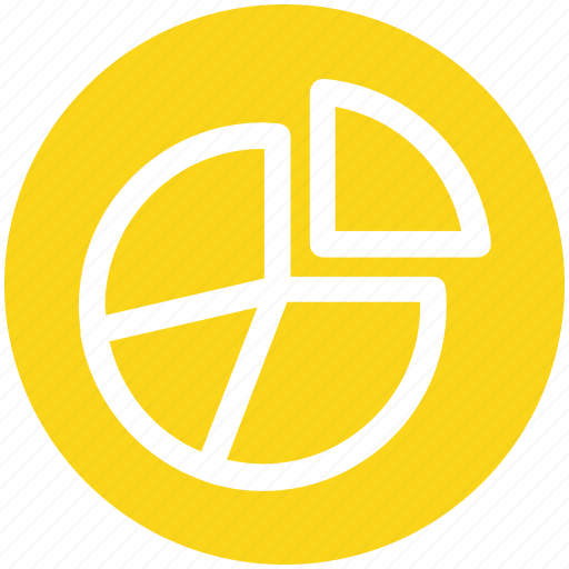 finance, graph, money, pie chart, presentation icon