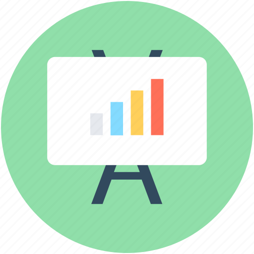 Business graph, business presentation, graph board, graph presentation, presentation board icon - Download on Iconfinder