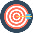 aim, crosshair, goal, objective, target icon